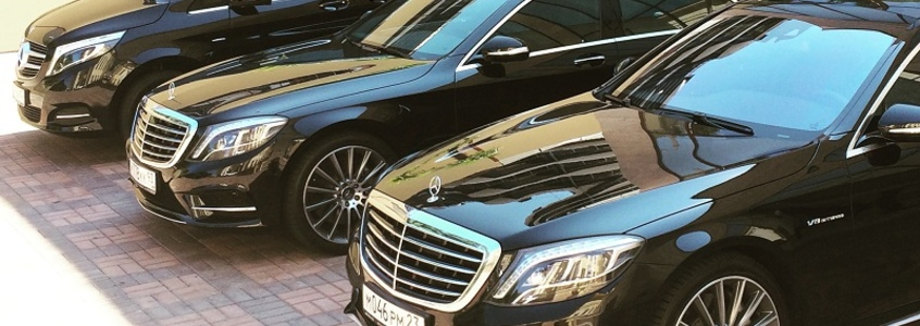 A wide range of Mercedes cars for rent in Sochi from the company Weekend-Sochi