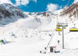 In the mountains of Sochi skiing season extended until mid-may