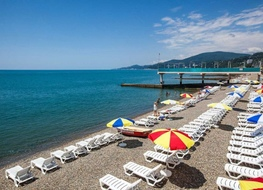 "12 beaches of Sochi are fighting for the ""Blue flags"""