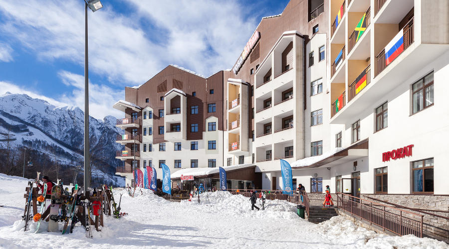 Rosa Ski Inn Deluxe Hotel 4* - new four-star hotel in the mountains of Sochi